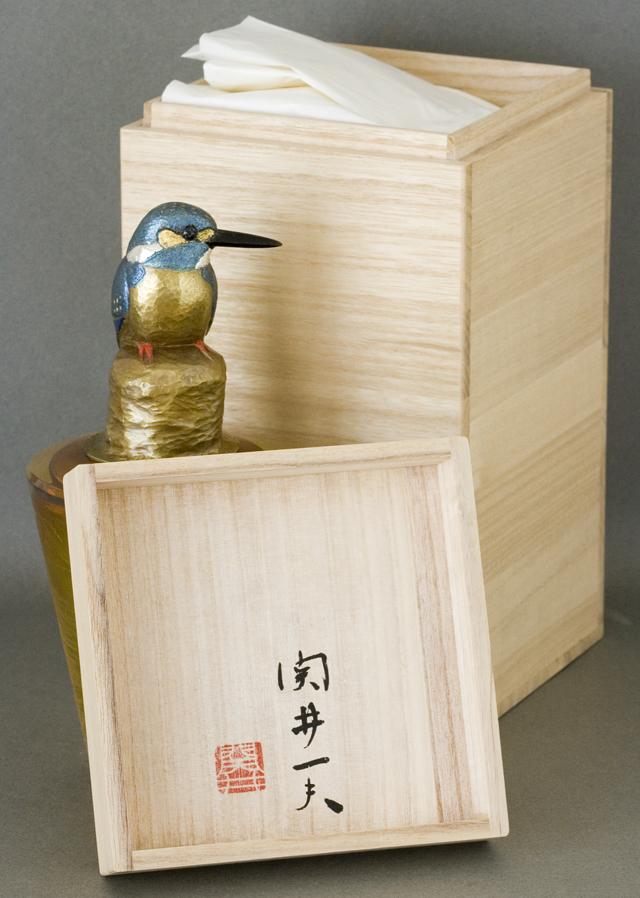 鍛金|金属造形作家「関井一夫|Kazuo Sekii」作「真鍮鎚起|川蝉万華鏡」-03