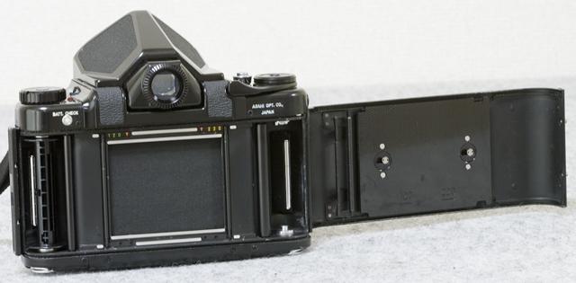 中判フィルムカメラ「ASAHI PENTAX 67:ペンタックス」TAKUMAR:タクマーレンズ105MM/1:2.4付-10