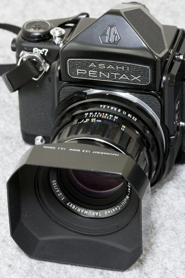 中判フィルムカメラ「ASAHI PENTAX 67:ペンタックス」TAKUMAR:タクマーレンズ105MM/1:2.4付-20