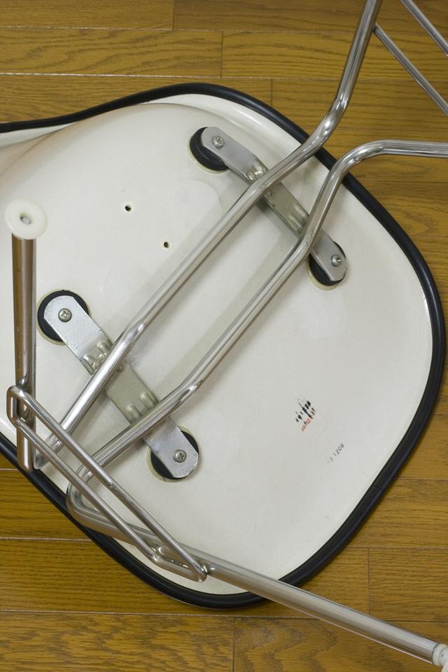 ミッドセンチュリーのヴィンテージ「Herman Miller:ハーマンミラー|Eams:イームズ|シェルサイドチェア|スタッキングベース」-10