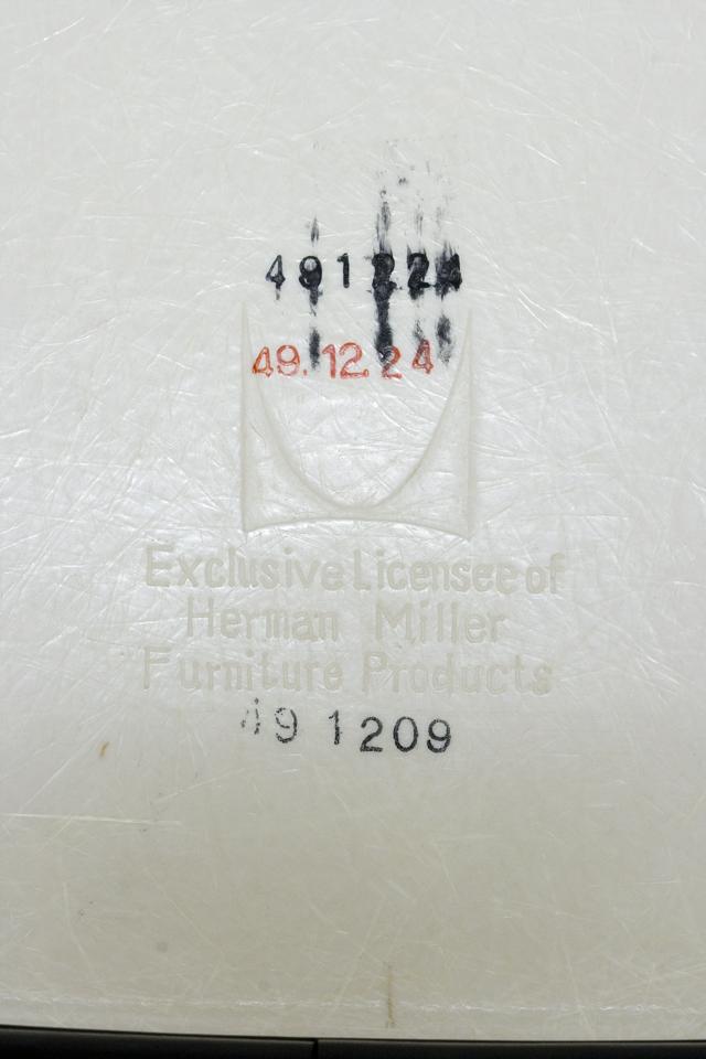 ミッドセンチュリーのヴィンテージ「Herman Miller:ハーマンミラー|Eams:イームズ|シェルサイドチェア|スタッキングベース」-11