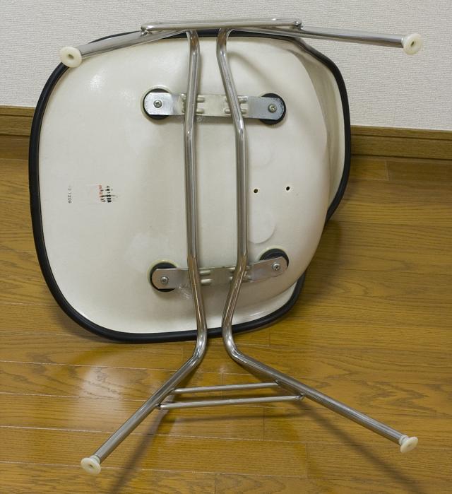ミッドセンチュリーのヴィンテージ「Herman Miller:ハーマンミラー|Eams:イームズ|シェルサイドチェア|スタッキングベース」-12