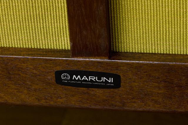 「MARUNI:オールドマルニ」二人掛けソファ-19