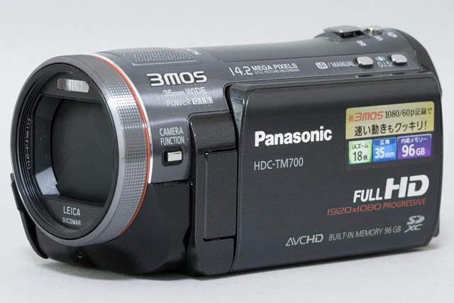 Panasonic:パナソニックのデジタルハイビジョンビデオカメラ「HDC-TM700」-01