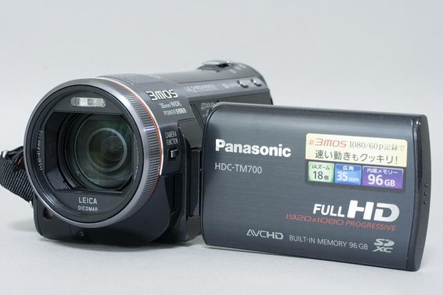 Panasonic:パナソニックのデジタルハイビジョンビデオカメラ「HDC-TM700」-02