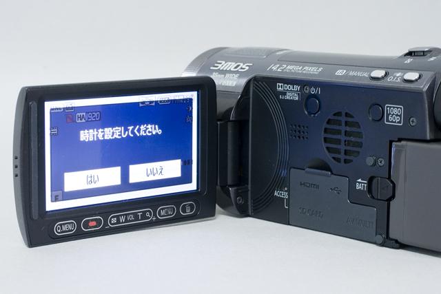 Panasonic:パナソニックのデジタルハイビジョンビデオカメラ「HDC-TM700」-04