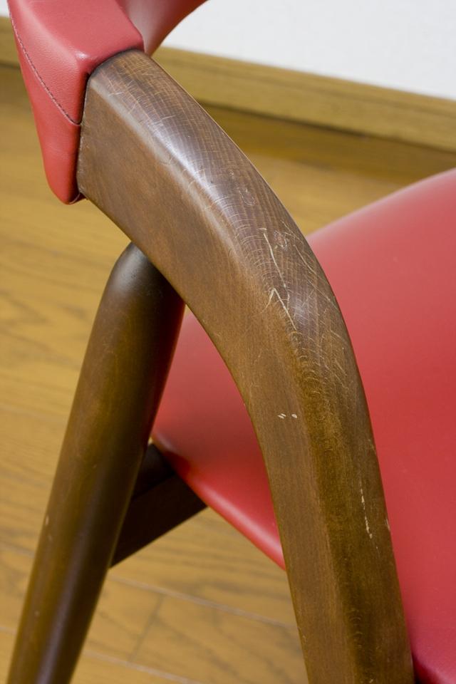 「TSUJI:辻木工」のヴィンテージチェア2脚セット-10