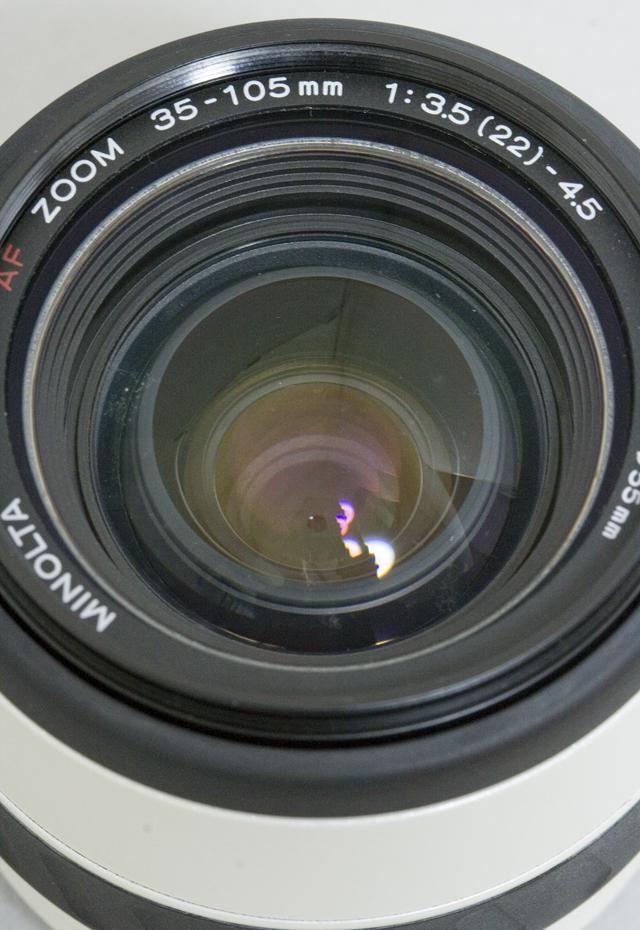 MINOLTA:ミノルタのフィルム一眼レフカメラ、ミール搭載記念限定ホワイトモデル「α8700i」-15