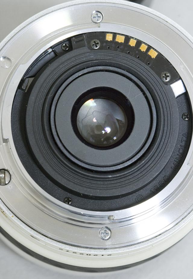MINOLTA:ミノルタのフィルム一眼レフカメラ、ミール搭載記念限定ホワイトモデル「α8700i」-17