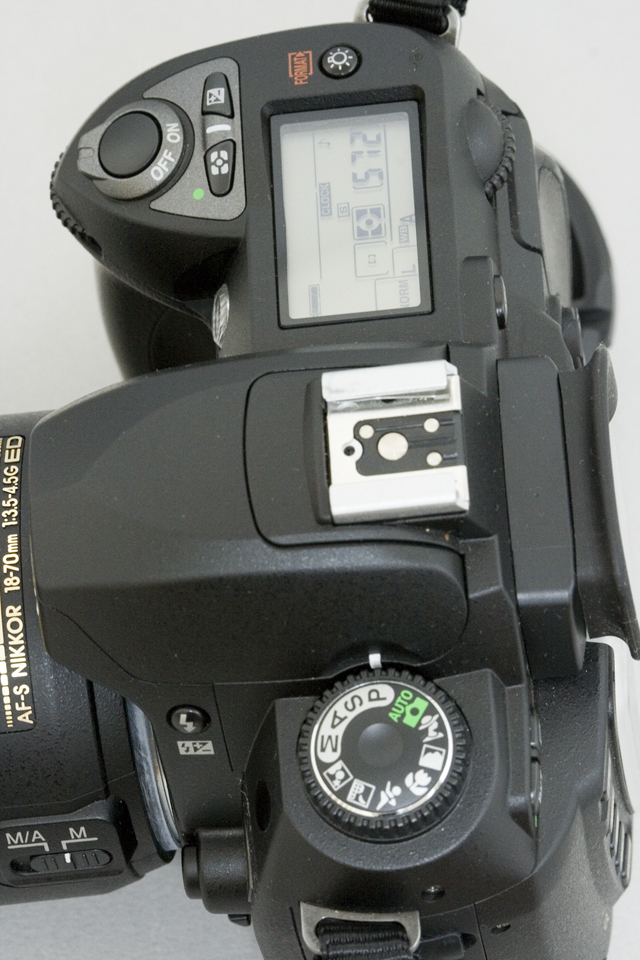 中古のNikon:ニコンデジタル一眼レフカメラ「D70sレンズキット」-11