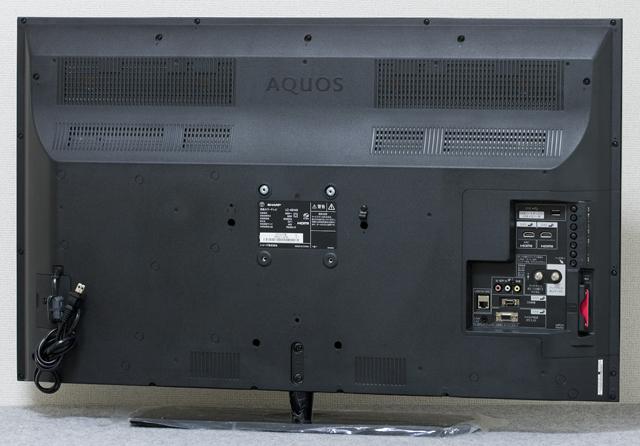 SHARP:シャープの40V型液晶テレビ:TV、AQUOS:アクオス「LC-40H40」-05