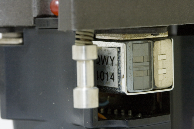 Technics:テクニクスのオープンリールデッキ、「RS-1700U」用HEAD BLOCK:ヘッドブロック「RP-2R2R」-09