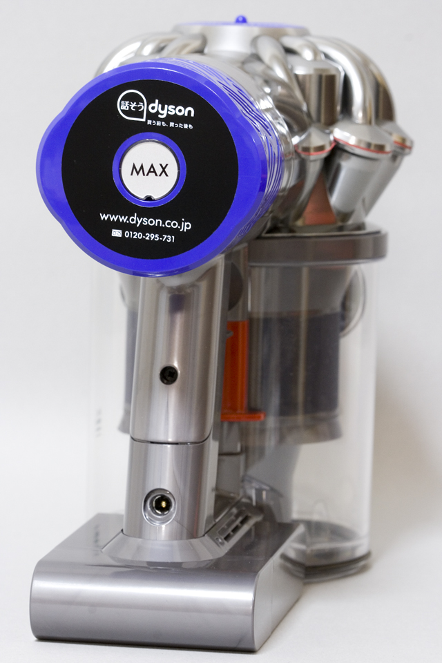 dyson:ダイソンのコードレスクリーナー「V6 Fluffy +:フラフィ」-05