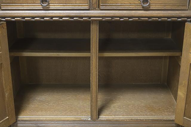 イギリスアンティーク|英国家具「Old Charm Furniture:オールドチャーム社」のオーク材カップボード-18