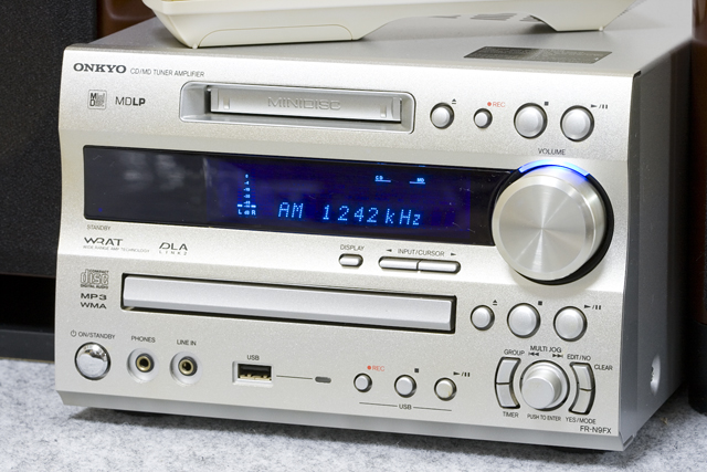 ONKYO:オンキョーのCD/MDチューナーアンプシステム、ミニコンポ「X-N9FX(D)」-02