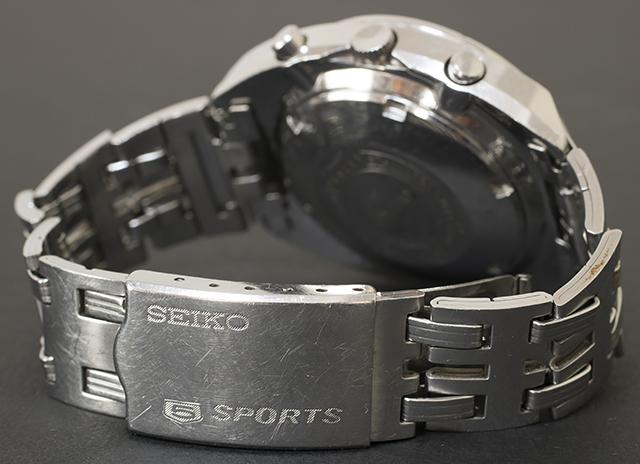 SEIKO:セイコーの腕時計「5SPORTS:ファイブスポーツ|Speed Timer:スピードタイマー|6139-6032」-09