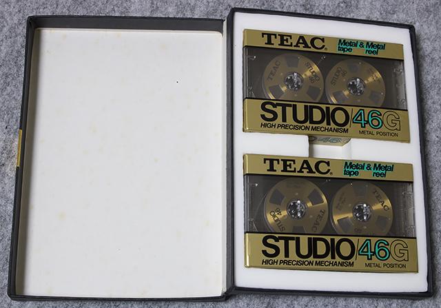 TEAC:ティアックのMETAL POSITION TAPE:メタルポジションテープ「STUDIO/46G:スタジオシリーズ/46分」-03