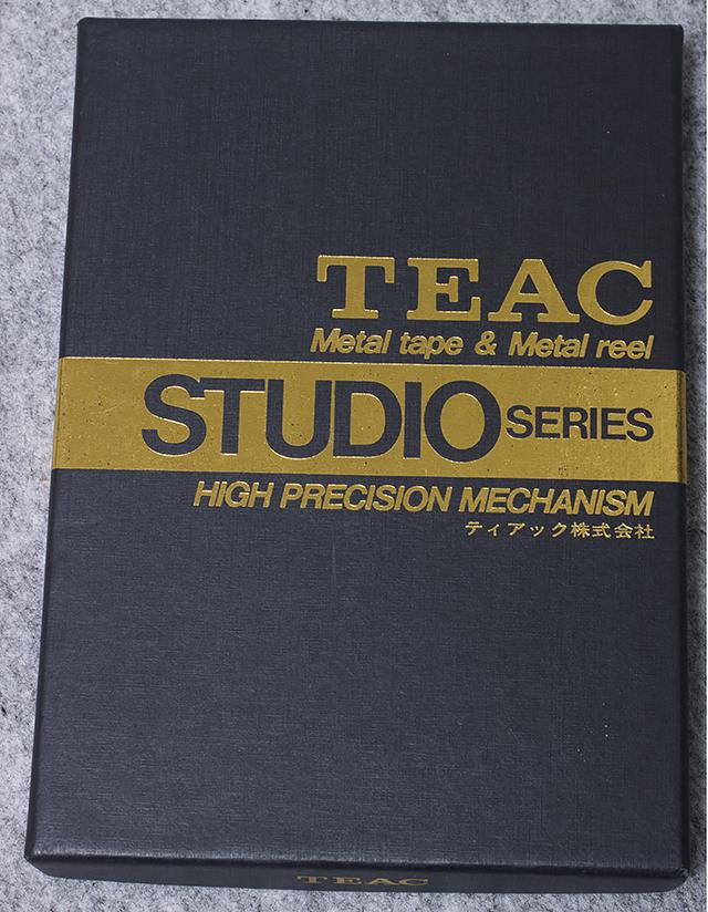 TEAC:ティアックのMETAL POSITION TAPE:メタルポジションテープ「STUDIO/46G:スタジオシリーズ/46分」-06